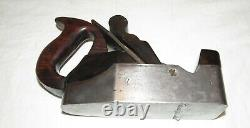 Antique infill smoothing plane woodworking tool possibly Slater old woodworking