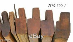 Antique wood wooden MOLDING PLANE TOOLS H&R's others OH woodworking carpenter