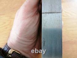 Antique woodworking tool. Spiers Of Ayr Steel And Rose wood, Rebate Plane
