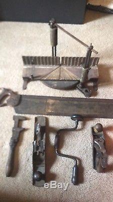 Antique woodworking tools stanley