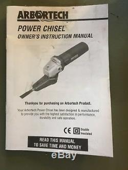 Arbortech Woodworking Power Chisel with Two New Chisels Included