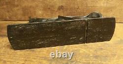 Birmingham Type Rabbet Plane Batwing Antique Woodworking Tool