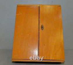 Bonum Rare German tool kit woodworker cabinet collectible Germany extra tools