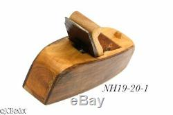 Boxwood rosewood fine shape LEON ROBBINS SMOOTHER carpenter woodworking plane