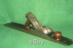 CLEAN Vintage Stanley Bailey No 8 Type 6 Jointer Woodworking Plane Inv#RC08