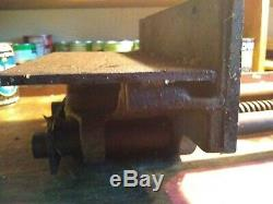 COLUMBIAN 10x4Jaw Plate Under Mount Woodworking Vise Model 10RD-M 12Capacity