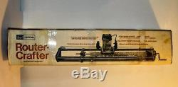CRAFTSMAN Sears ROUTER CRAFTER WOODWORKING JIG FIXTURE Wood Lathe Replicator
