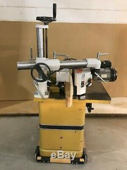 Carpentry woodworking tools Shaper with feeder and Filter Bag