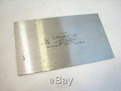Clean Stanley 12-1/2 Cabinet Makers Veneer Scraper Plane Woodworking Tool