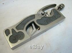 Clifton no. 410 Shoulder Rebate Plane Woodworking Tool 5/8 Rabbet England withBox