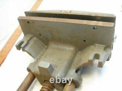 Columbian 10R Woodworking Under Bench Vise Clamp Tool 10 Jaw