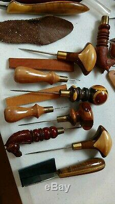 Custom Woodworking Wood Carving Whittling Huge Lot Of Tools