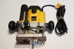 DEWALT 2 HP DW621 Variable Speed Plunge Router Woodworking tool