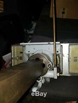 EMMERT No. 82 TURTLE BACK PATTERN MAKER'S VISE -1891 PAT. DATE- WOODWORKING VISE