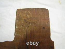 Early Baldwin Albany Woodworking Moulding Plane Wood Tool Quirked Ogee Molding
