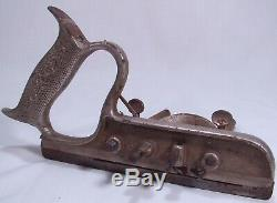Early Stanley Combination Plow Plane + Stanley 46 50 113 Woodworking Tools