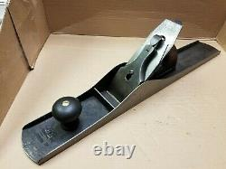 Early Stanley No 7 Jointer Plane Pre-lateral Smooth Sole Woodworking Tool