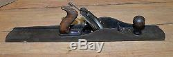 Early Stanley No 8 C jointer plane antique 21 1/2 woodworking collectible tool