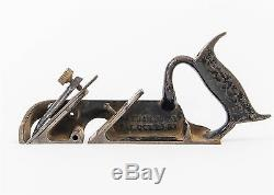 Early Vintage Stanley Cast Iron Sweetheart Plane Size No. 78 Woodworking Tool