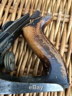 Early record 10.1/2 rebate plane Vintage Woodwork Tool