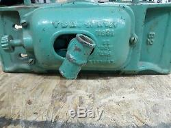 Emmert Antique Turtle Back Pattern makers Woodworkers Bench Vise # 82