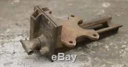 Emmert No 107 Patternmakers Bench Vise Pattern Maker Vice Vintage Woodworking