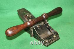 Fine & Scarce 19th Century Stanley No 11 Belt Makers Woodworking Plane Inv#NY75