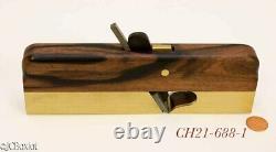 Fine shape 1 inch HNT GORDON SHOULDER WOODWORKING PLANE ebony