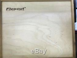 Flexcut Carving Tools, Mallet-Carving Chisels and Gouges, Deluxe Set MC100