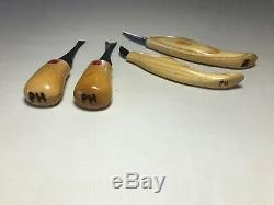 Flexcut Carving Tools Palm & Knife Chisels Woodworking Knives Mixed Lot 14 Piece