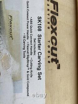 Flexcut wood carving tools set