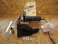 Freud JS100 Biscuit Jointer Joiner 240v Complete in Case Dust Bag wood working