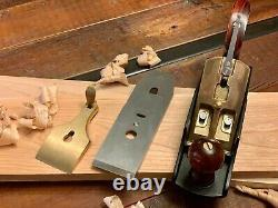 Genuine Lie Nielsen No. 4 1/2 Smoothing Plane, Gently Used, Cocobolo Woodwork