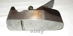 H Slater London Rosewood infill smoothing plane woodworking tool