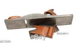 Hefty nice MAHOGANY ENGLISH INFILL woodworking plane 16 carpenter tool