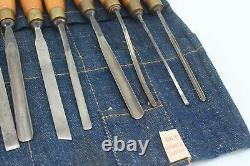Henry Taylor Acorn 18 Sheffield England Wood Working Carving Gouges Chisel Tools