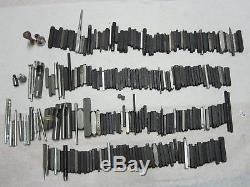 Huge lot of Letter & symbol stamps punches tools woodworking Leather metal