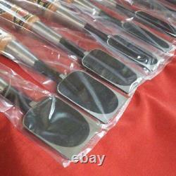 Japanese Vintage Chisel Nomi Carpentry Tool wood working Japan lot of 10 #20