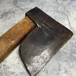 Japanese Vintage Woodworking Carpentry Tool Wood-Chopping Masakari 600g Ono Used
