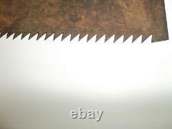 Japanese Wood Working Tool Vintage Wood Carving Flat Hand Blade Saw'noko giri
