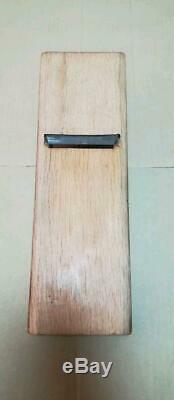 Japanese Woodworking Carpentry tool kanna Teruhide Ishido 70mm Used