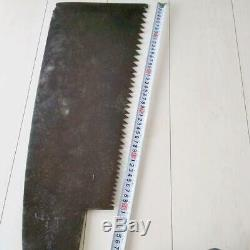 Japanese vintage woodworking carpentry tools saw nokogiri OGA blade 53.0cm used