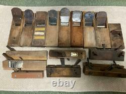 Kanna Hand Plane Japanese Vintage Antique Carpentry Woodworking Tool K94