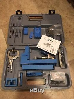 Kreg Jig K2000 Jig Pocket Hole System Woodworking Tool Set Barely Used