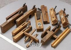 LOT 11 Japanese WOOD PLANES KANNA SET (woodworking tool) USED JAPAN F7458