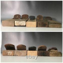 LOT 9 Japanese WOOD PLANES KANNA SET (woodworking tool) USED JAPAN F6916