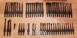 LOT of 58 FLEXCUT Blades Wood Carving Tools Gouges, Etc