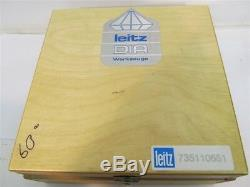 Leitz Woodworking Tools 735110651, DIA, 60°, 9, 30mm Bore V-Groove Cutter USED