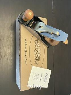 Lie-nielsen no 4-1/2 woodworking plane. Never Used