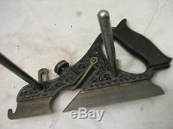 Lot Miller's Patent Plow Planes Stanley Woodworking Tool Bodies 41 43